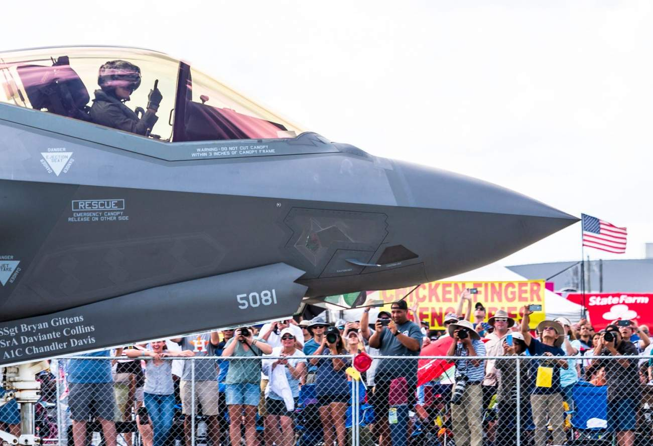 The F-35 Might Not Be Able to Fly in the Desert