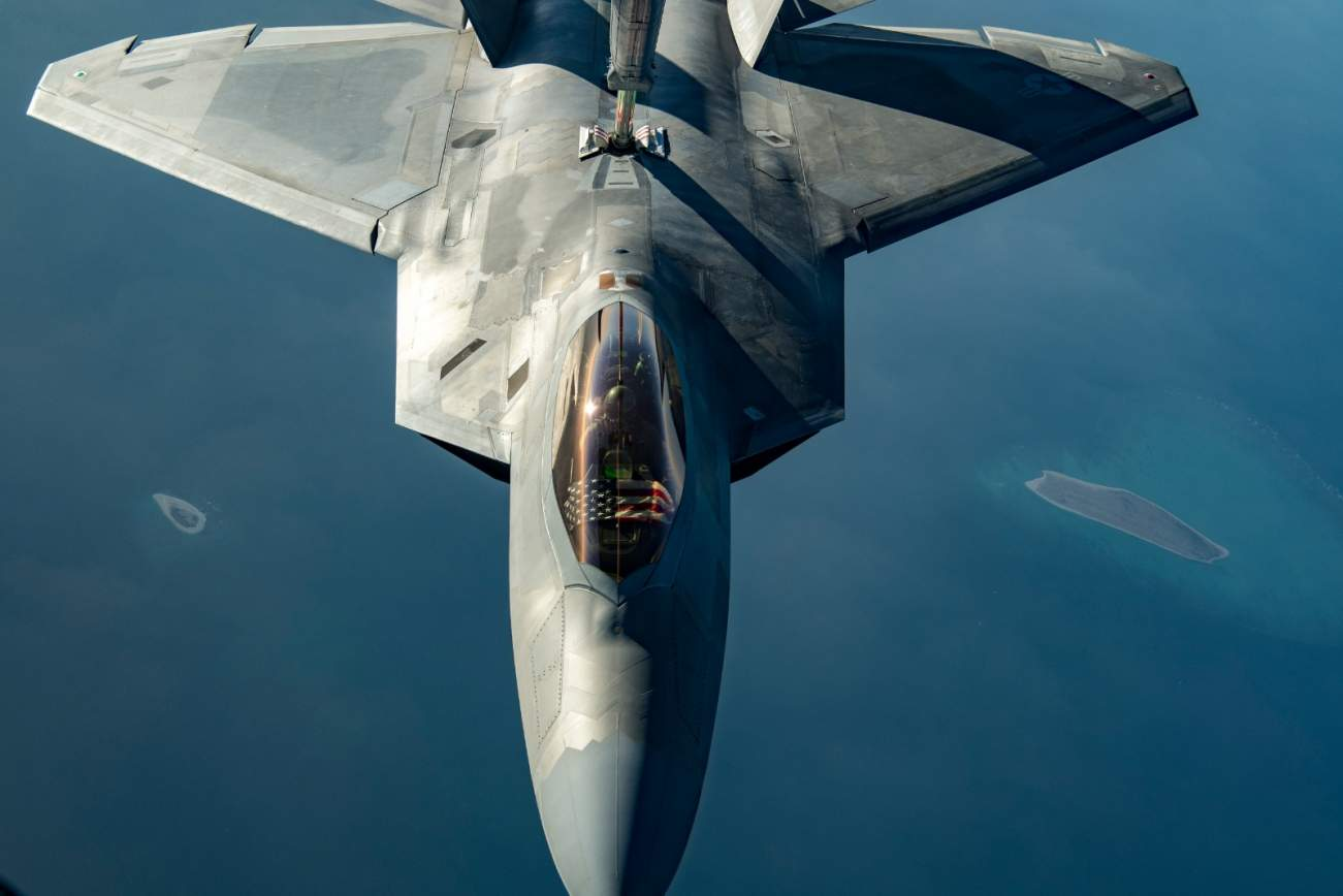 America's Stealth F-22s Were Helpless Against This Monster