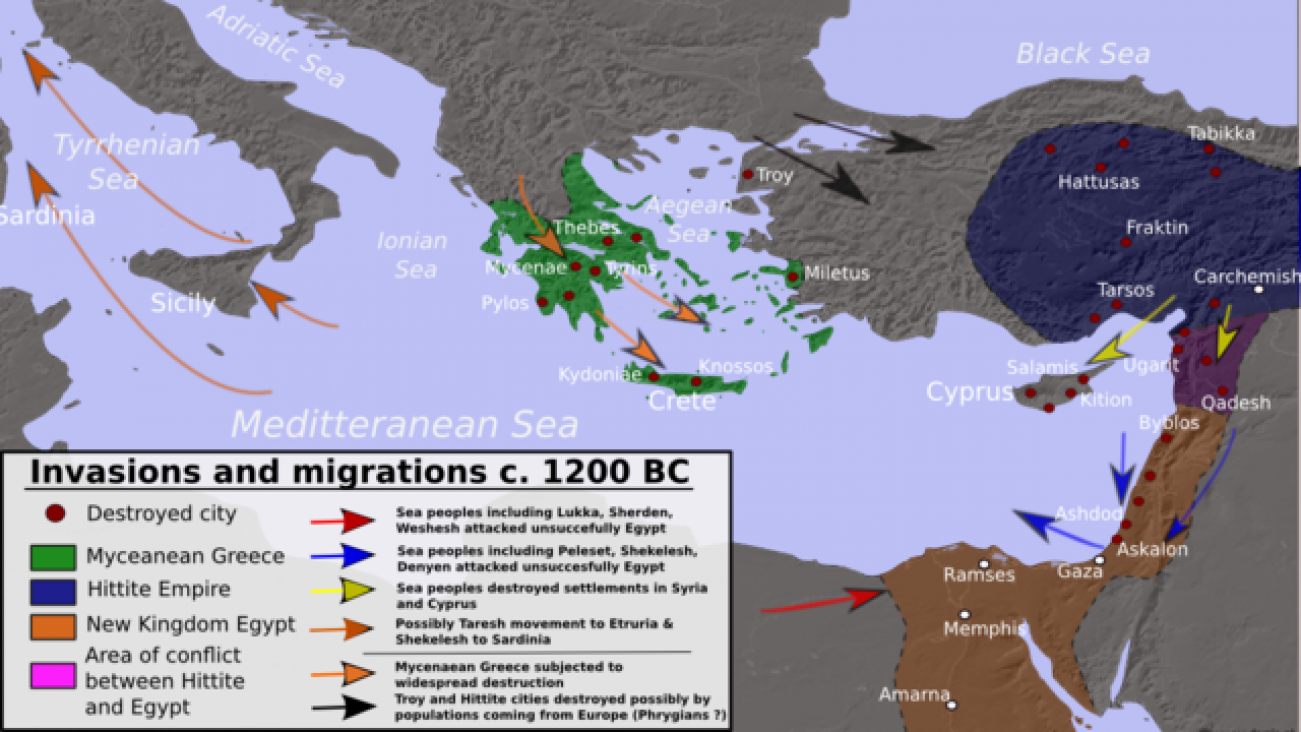 In 1100 BCE Bronze Age Civilization Was Swept Away. It Should Serve as a Warning to Us Today. Here's Why.