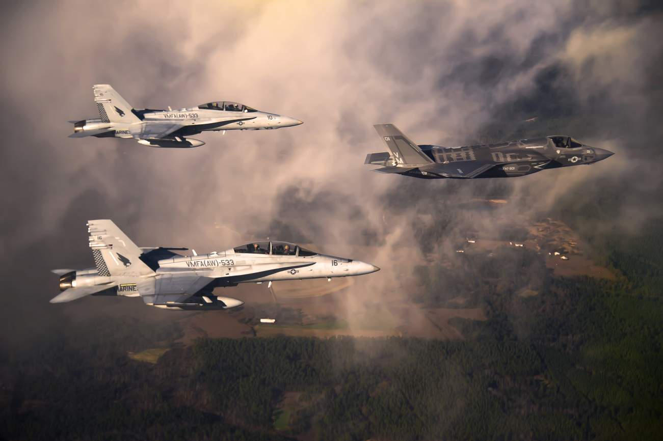 The Air Force Has a Plan if the F-35 Doesn't Work Out As Planned