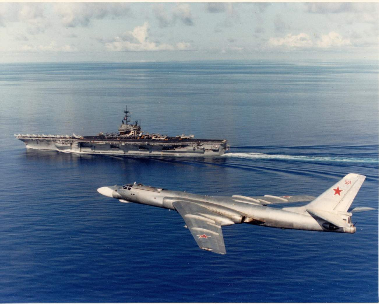 How Russia Planned to Hunt Down U.S. Aircraft Carriers in World War III