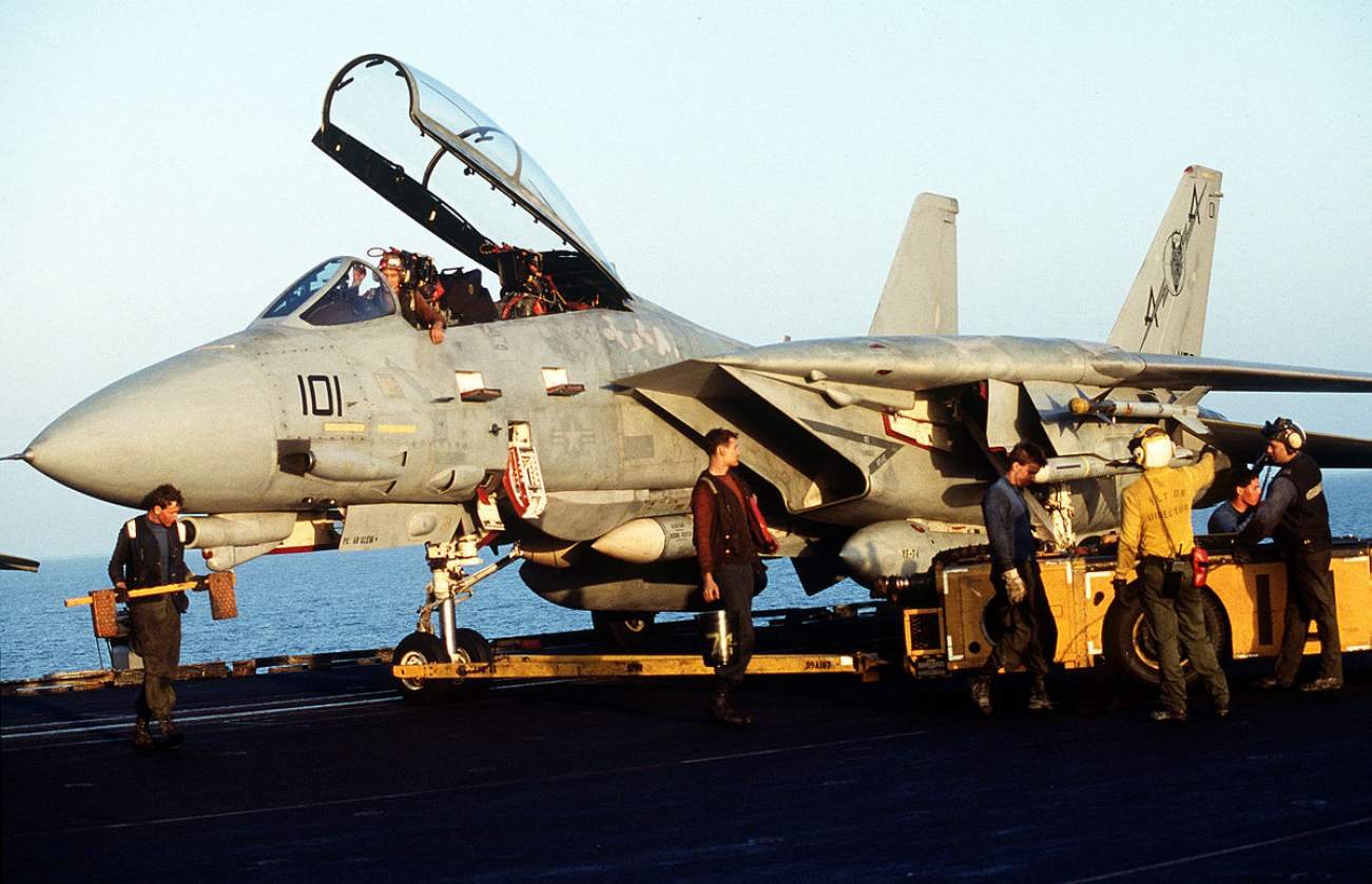Bombcat: How the Navy's Deadly F-14 Tomcat (Briefly) Served as a Strike Aircraft