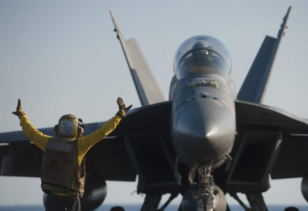 Expert: Iran Can't Sink a U.S. Navy Aircraft Carrier in a War (For Now)