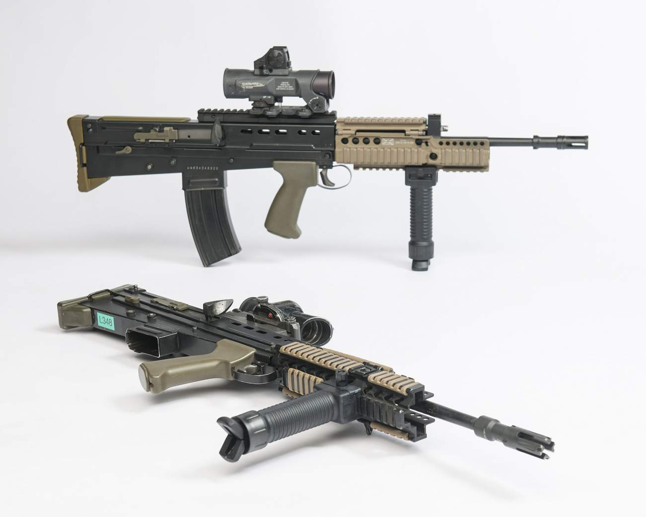 L85A1 Rifle: As Short as a Submachine Gun with the Performance of an Assault Rifle