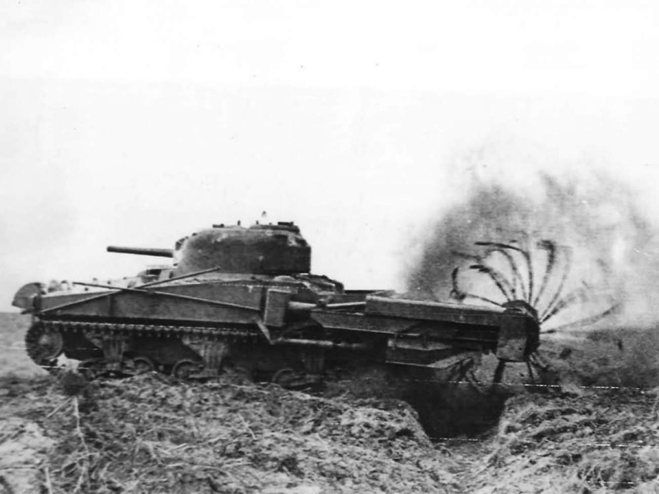 The U.S. Marines Are Bringing Back World War II Crab Tanks