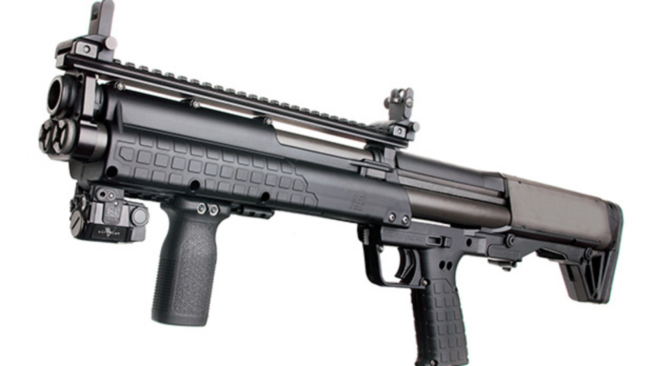 Meet the KSG-25: Kel-Tec's Insane 41-Shot Manual Bullpup Shotgun