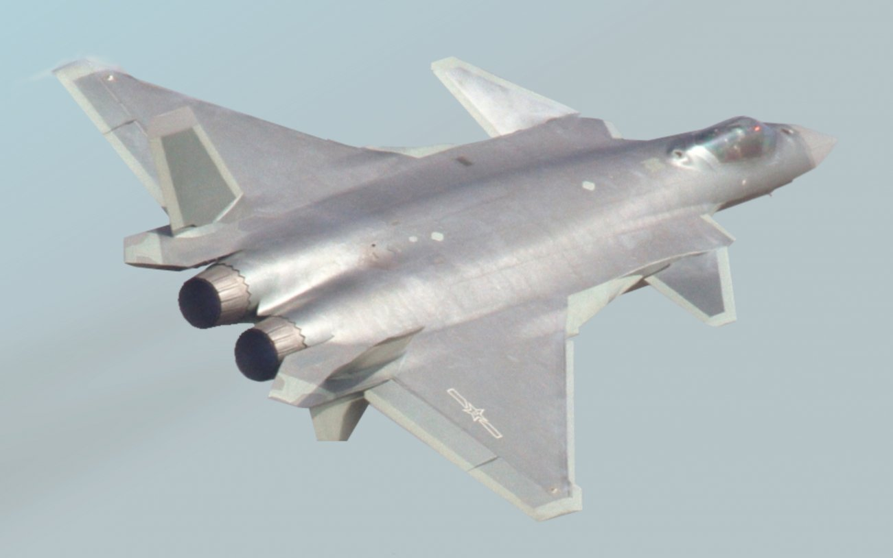 Here's A Special Glimpse At China's Secretive J-20 Stealth Fighter