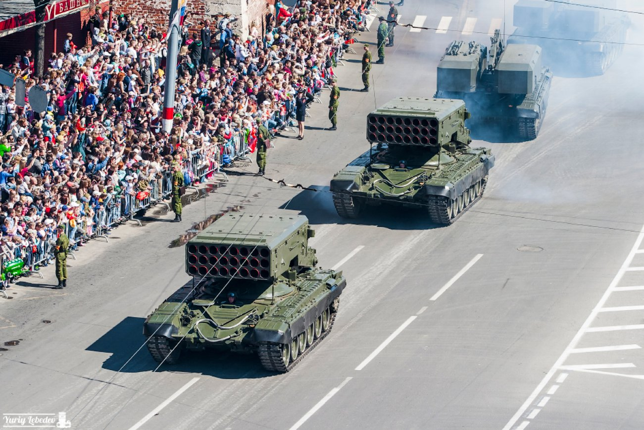 Deadliest Weapon After a Nuclear Bomb: Meet Russia's TOS-1 MLRS 'Buratino'
