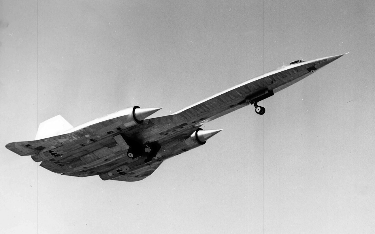 Study This Photo: This Was the CIAs Supersonic Spy Plane