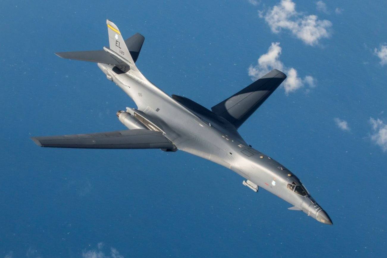 Why U.S. Air Force B-1B Bombers Just Completed a 24-hour Mission