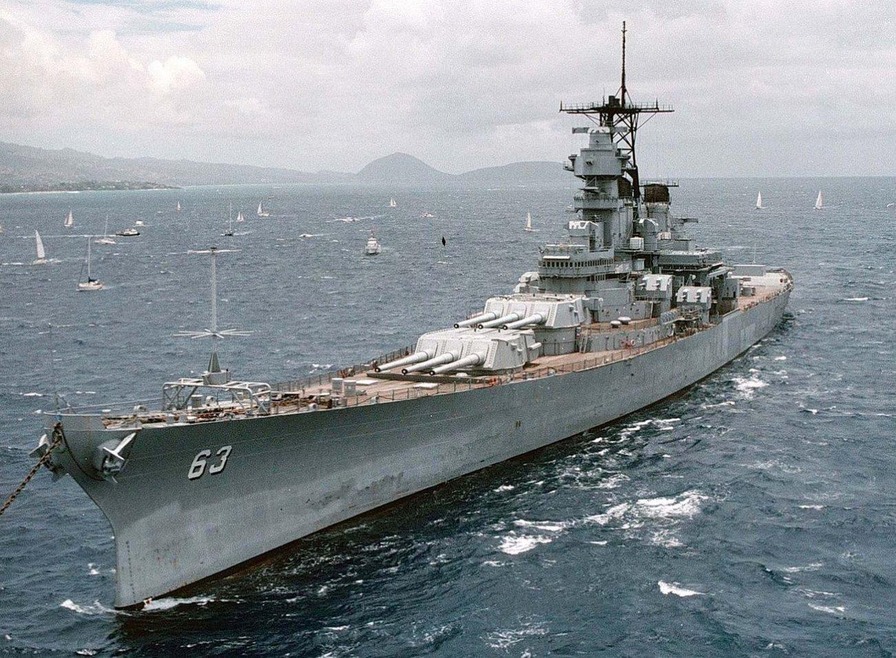Warship Battle: Could an Iowa-Class Battleship Sink the Nazis' Bismarck