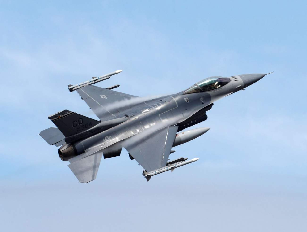 The Aging F-16 Just Got a Stealth Paint Job