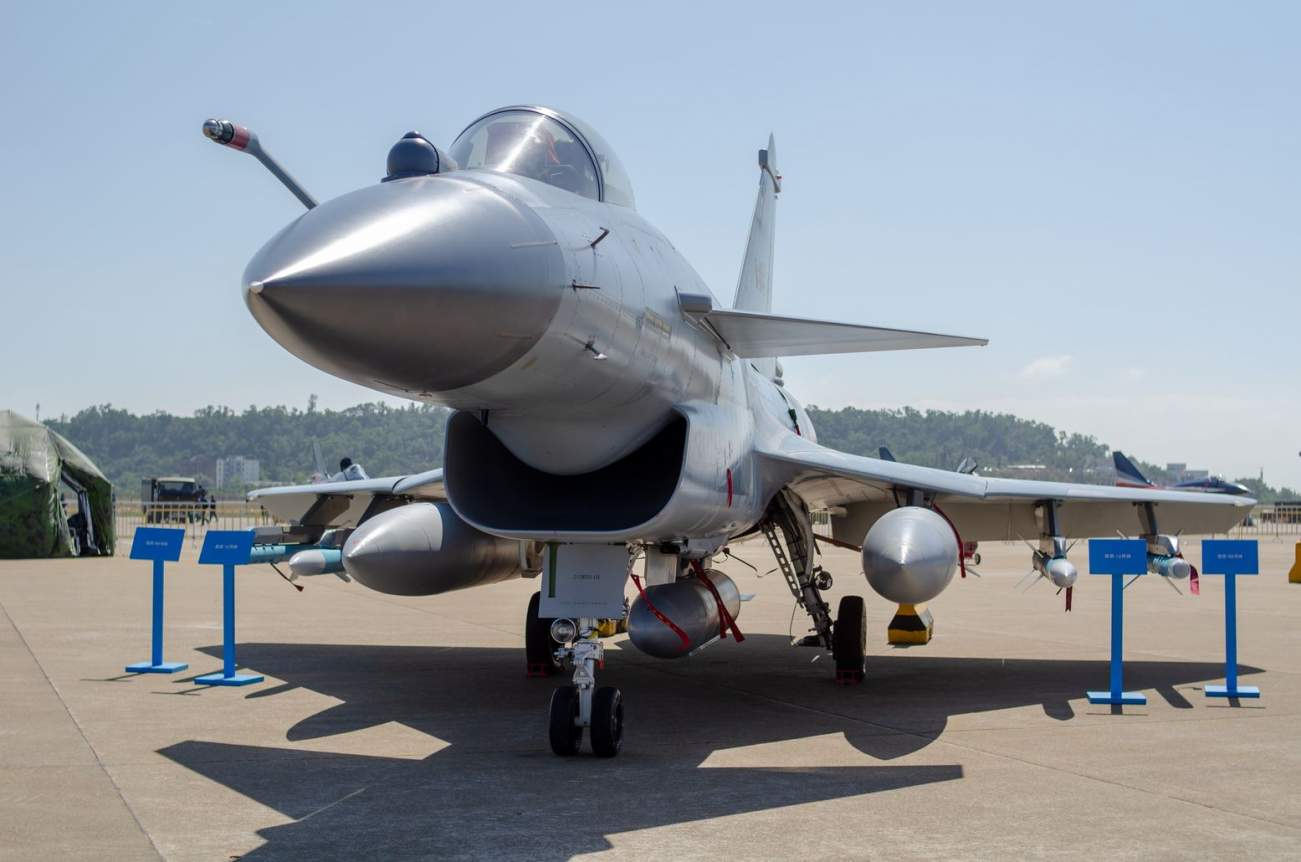 Study This Picture: China's J-10 Fighter Is One Tough Fighter Jet