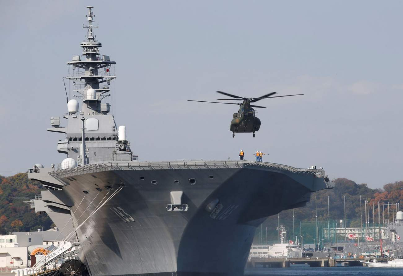 Stealth Surprise: Japan's Two Helicopter Carriers Will Soon Carry the F-35B