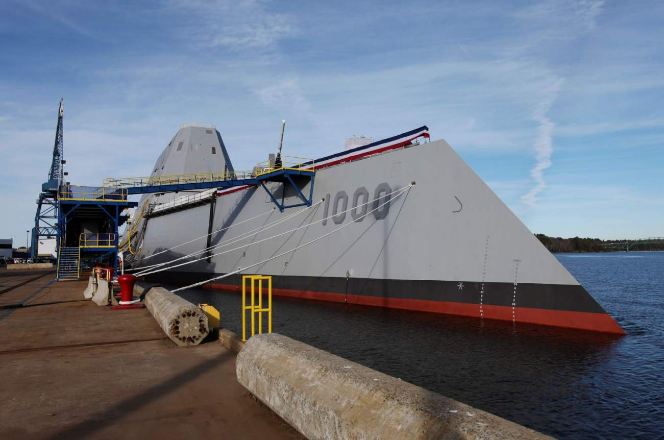 Why the Navy's Stealthy Zumwalt May Carry the Prompt Strike Missile