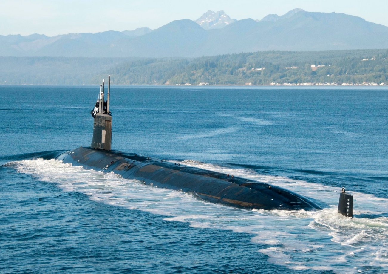 The Navy's Secret 2013 Spy Submarine Mission No One Talks About