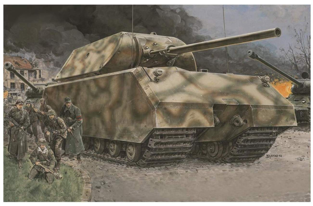 Why Nazi Germany's Maus Super Tank Was a Mistake