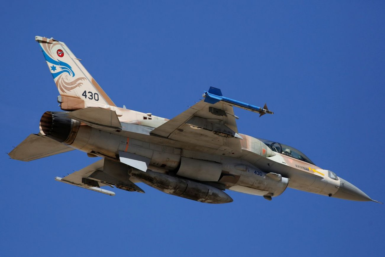 Israel's Fleet of F-15s and F-16s Is Massive—and Highly Specialized