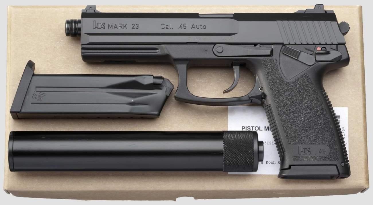 Meet the Navy SEALs' Crazy Weapon: The MK-23 Pistol
