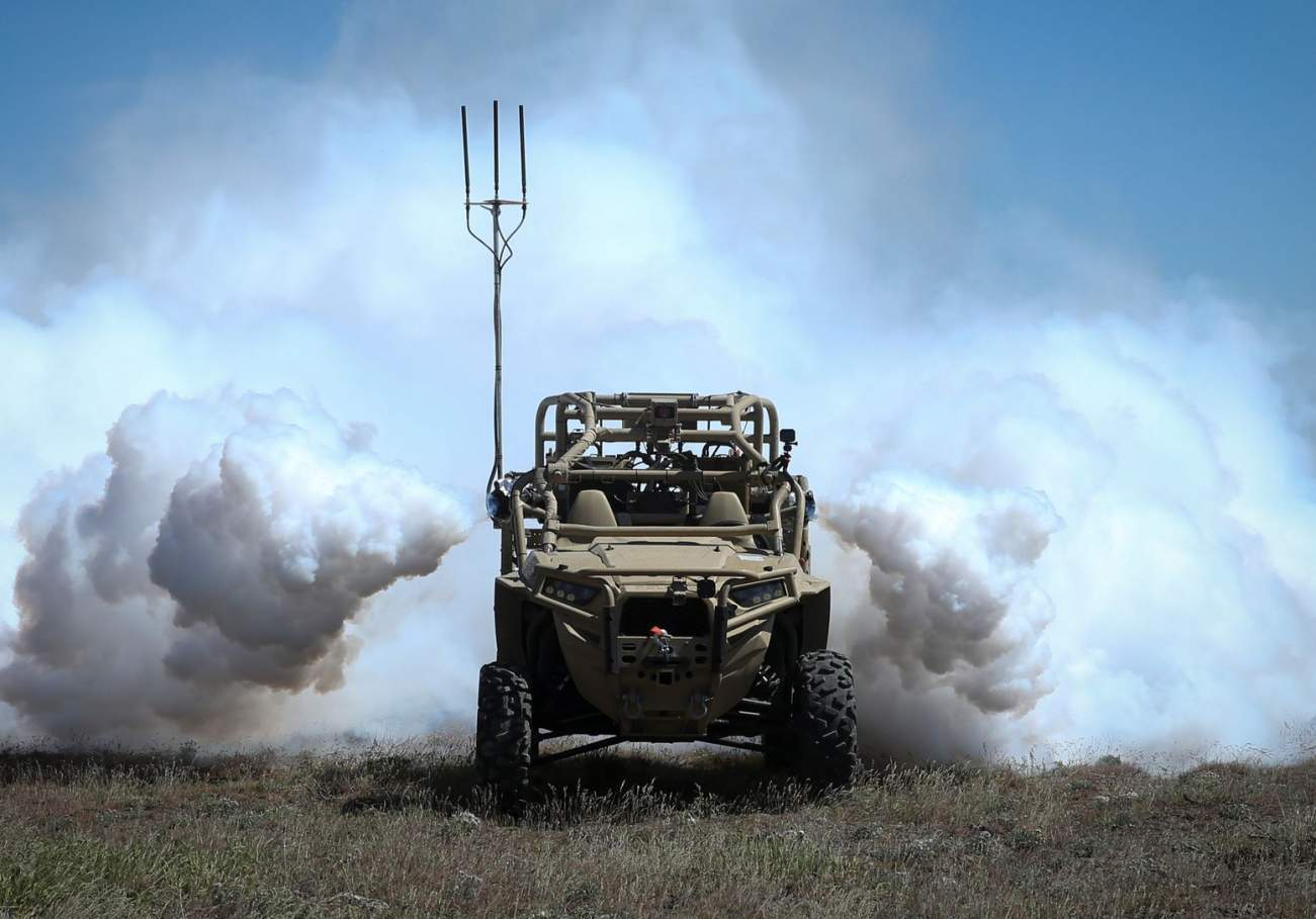 Meet the Army's Rugged Off-Road Robot Vehicles