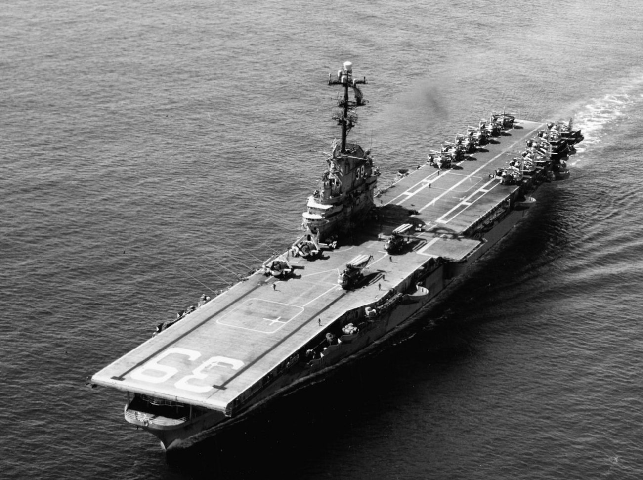 This U.S. Navy Aircraft Carrier Beat Imperial Japan and Russia