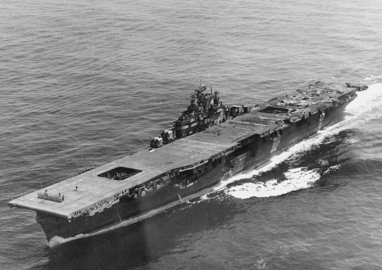 The One Thing That Nearly Sunk This U.S. Navy Aircraft Carrier Is...