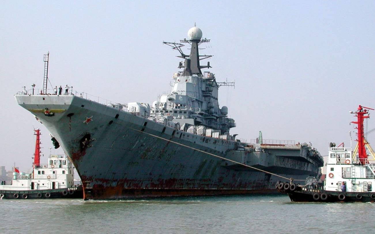 Just a Bunch of Rust: Why Russia's Kiev-Class Aircraft Carriers Failed