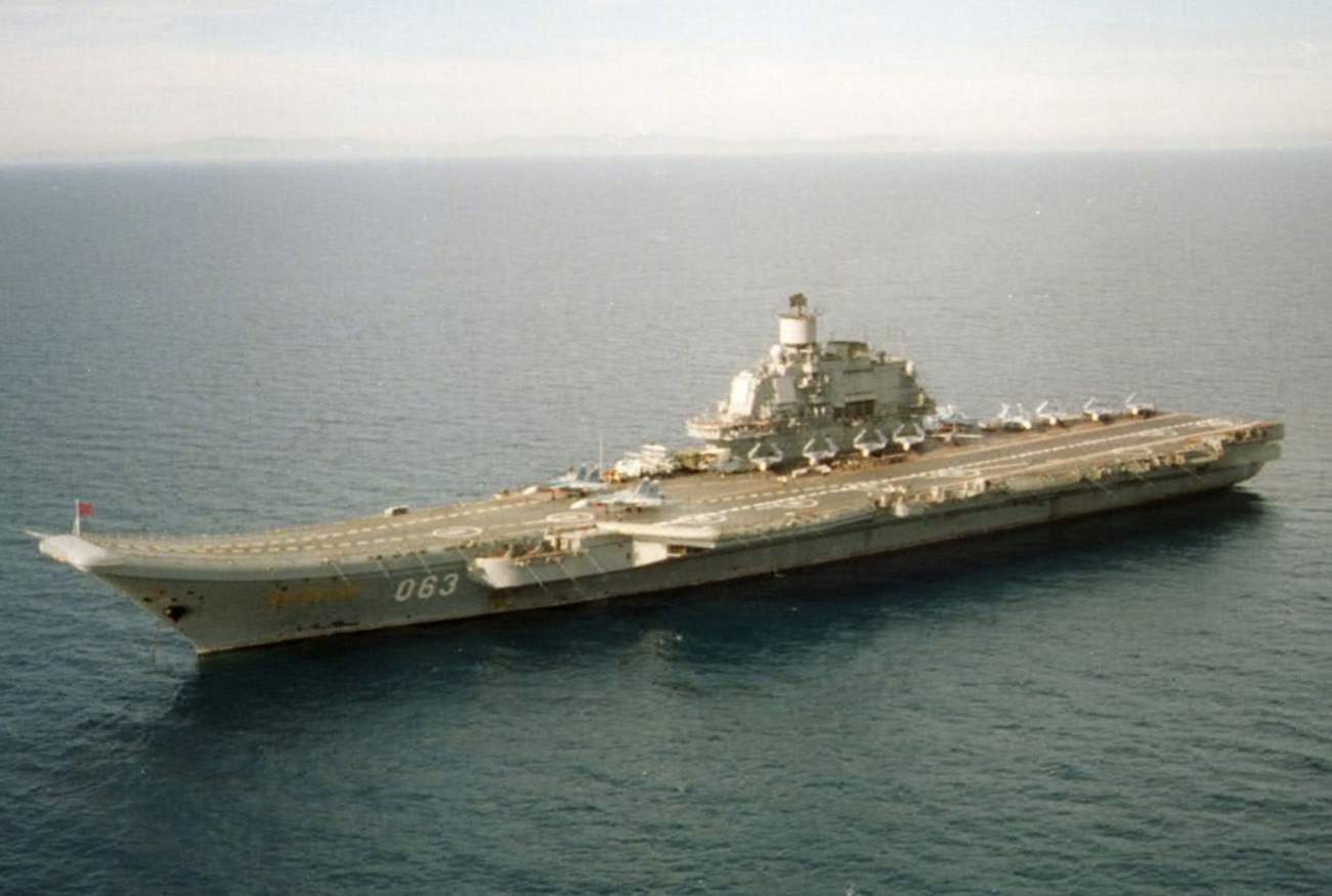 Russia Sole Aircraft Carrier Is in Big Trouble for 1 Reason