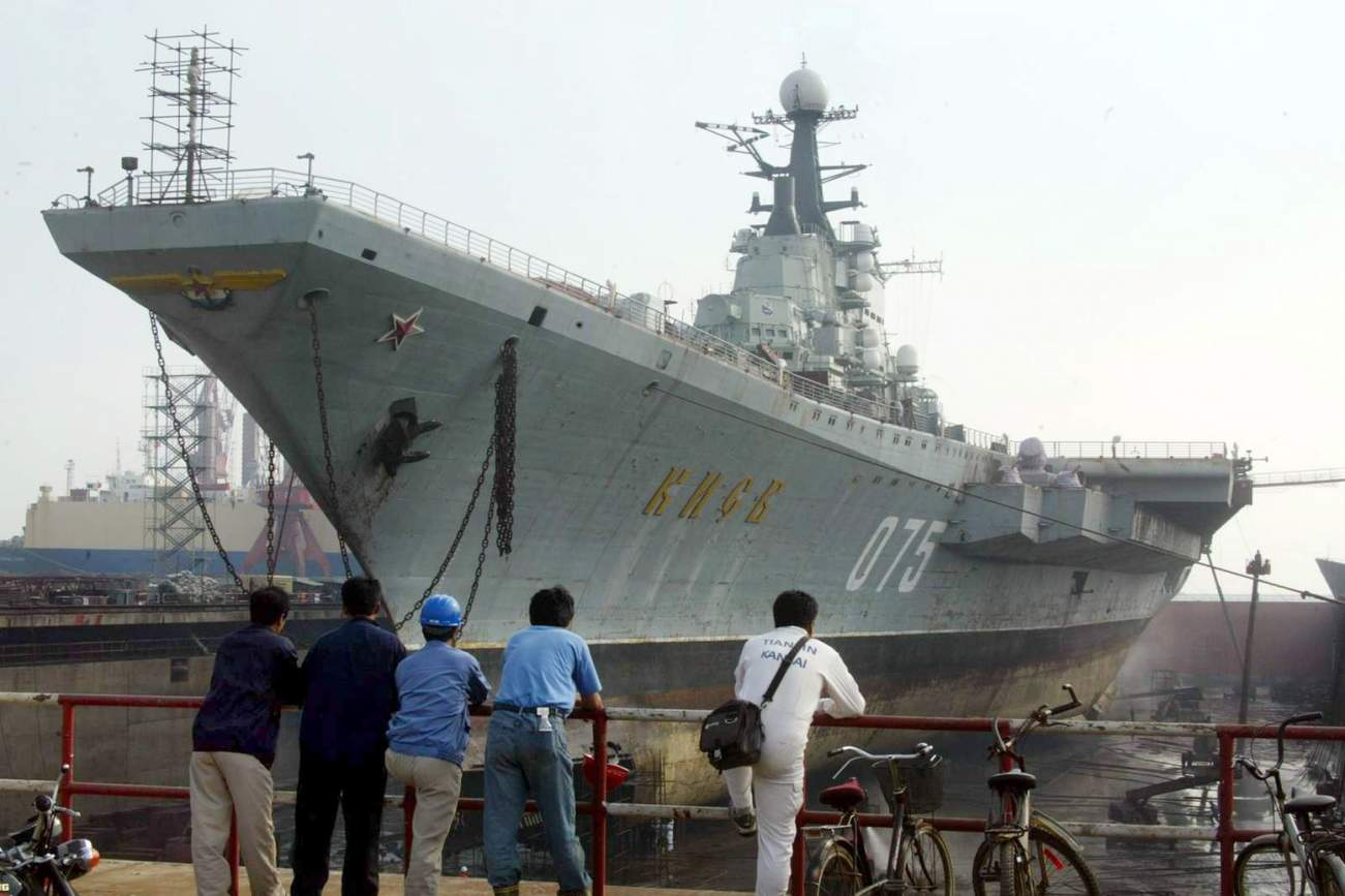 Why Russia's Dream of a 'Super' Aircraft Carrier Died