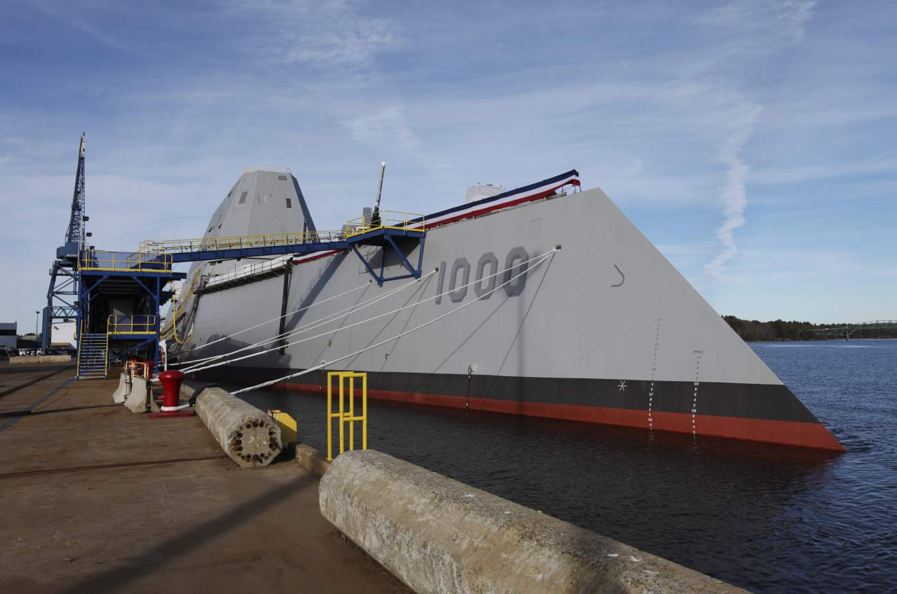 "Will the Navy Double-Down on ""Stealthy"" Warships?"