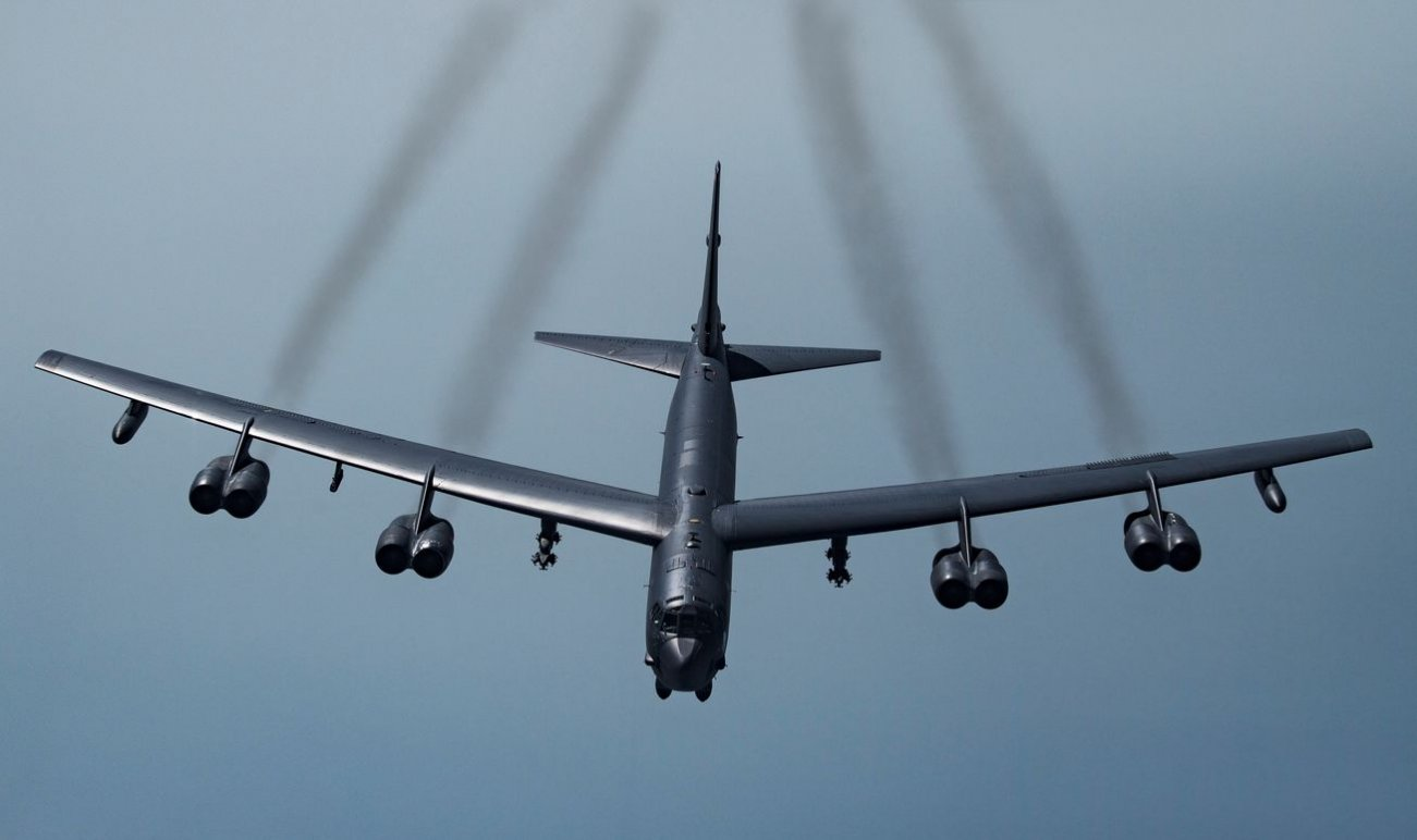 Signal to China? North Korea? U.S. Air Force Sent B-52H Stratofortress Back to Guam