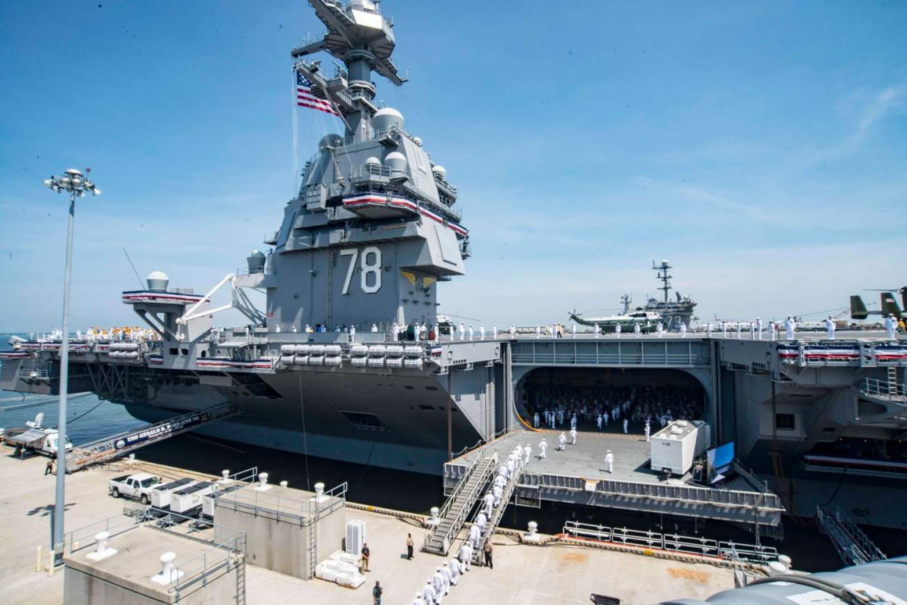 The U.S. Navy Needs 20 Years to Fix Its Shipyards