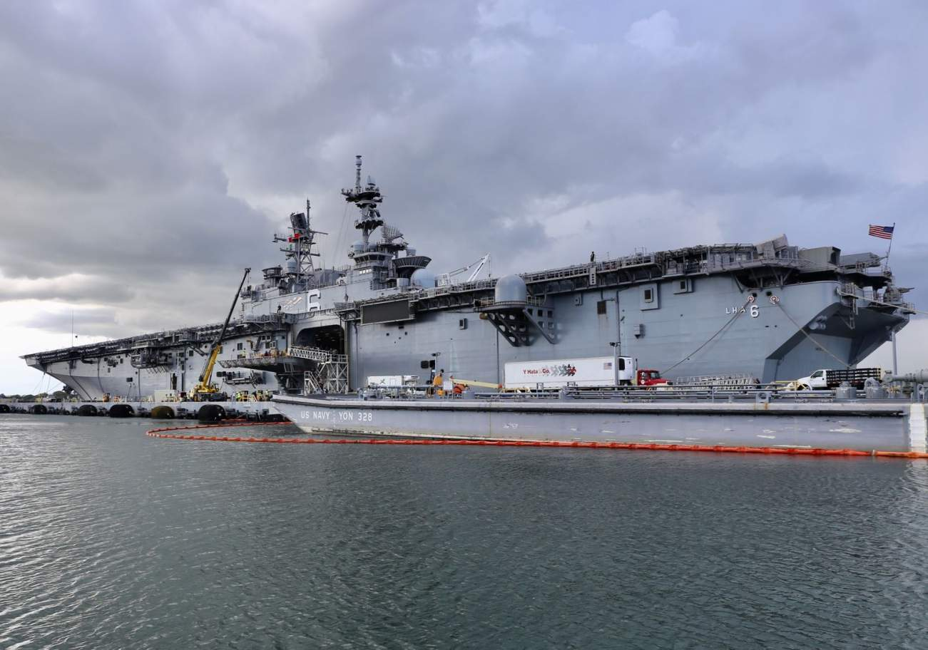 How the Navy Prepared the USS America for F-35s