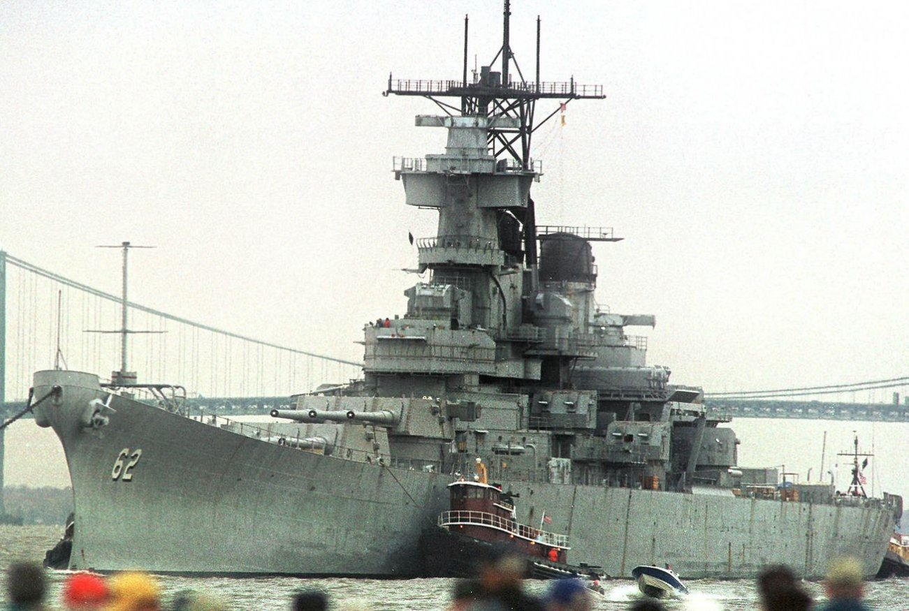 21,000 Rounds Fired: How the Battleship USS New Jersey Fought the Vietnam War