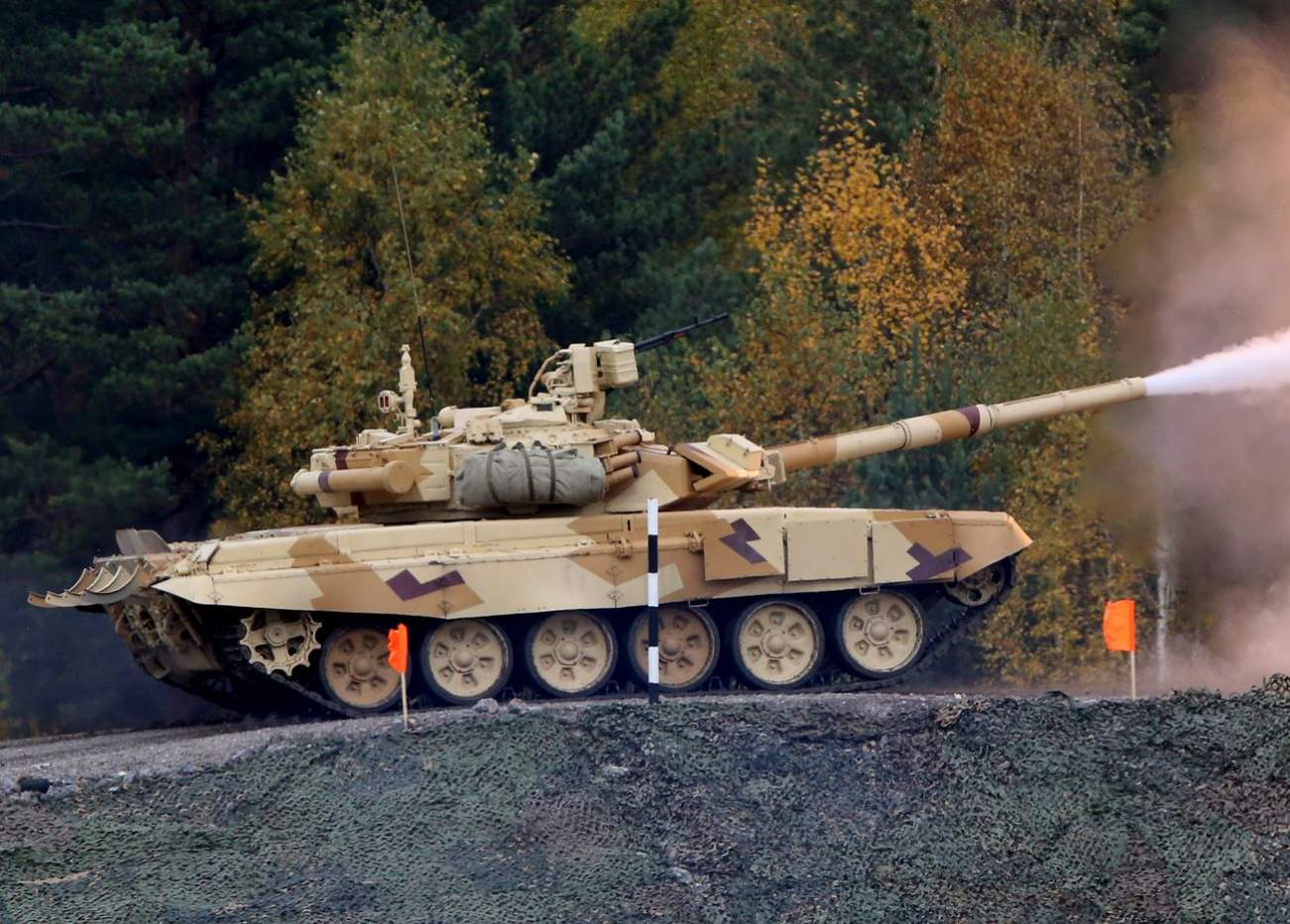 How Good Is Russia's New Fearsome New T-90M Tank?