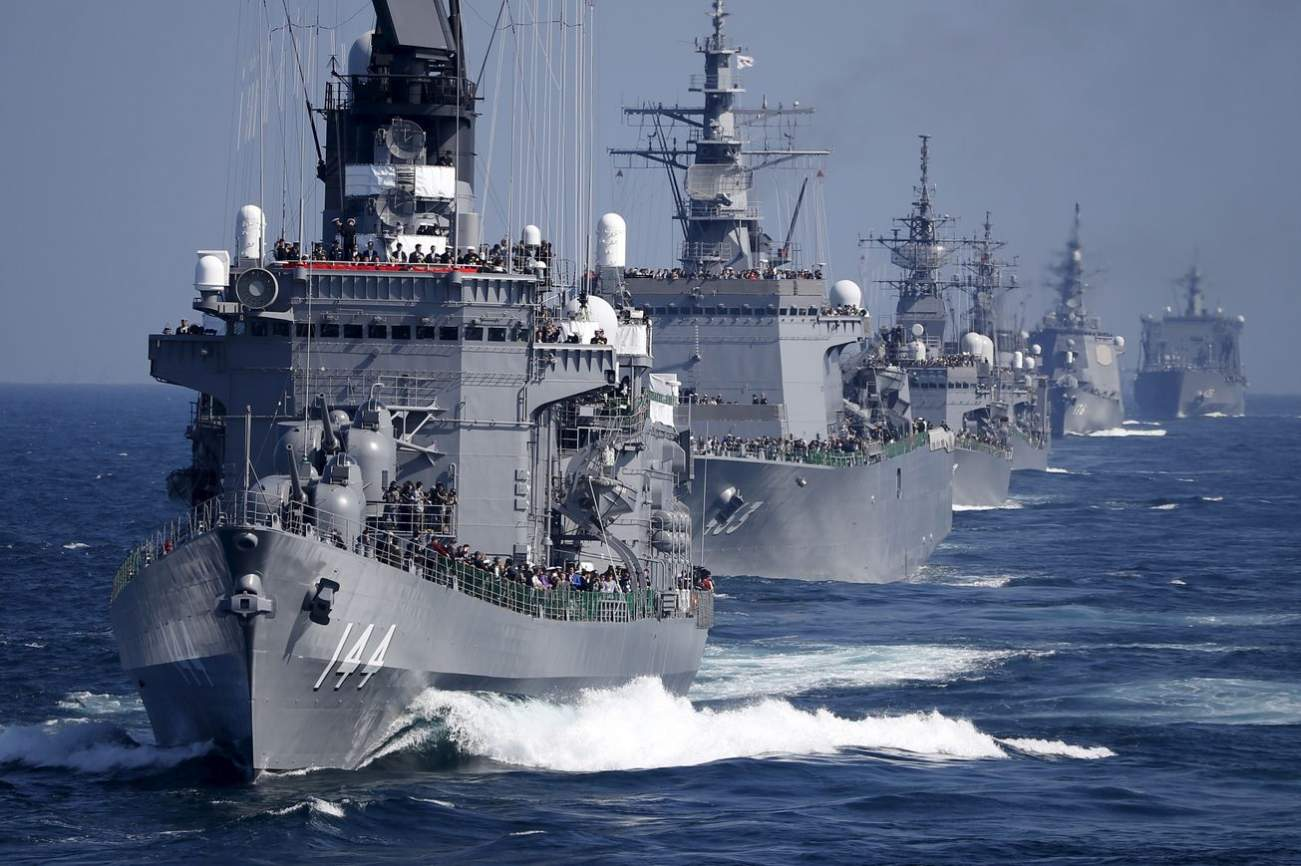 Horror: Here's What Would Happen If Japan and China's Navies Went to War