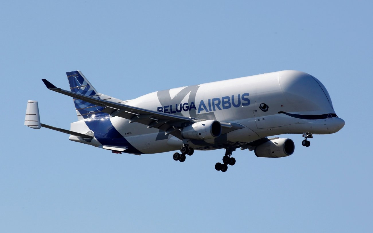 Meet the Beluga: Airbus's Flying Whale of a Cargo Plane