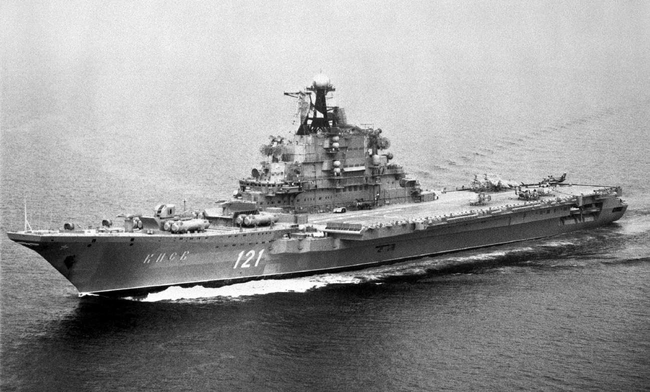 This Strange Russian Aircraft Carrier Had Enough Firepower to Be Called a Battleship