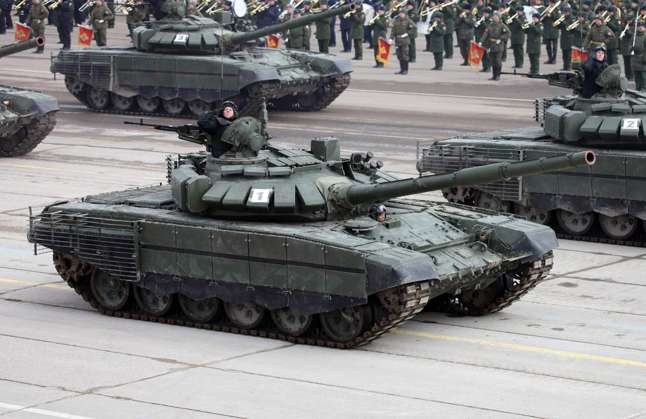 Russia Pushes Ahead With Development of Robotic T-72 Tanks and More