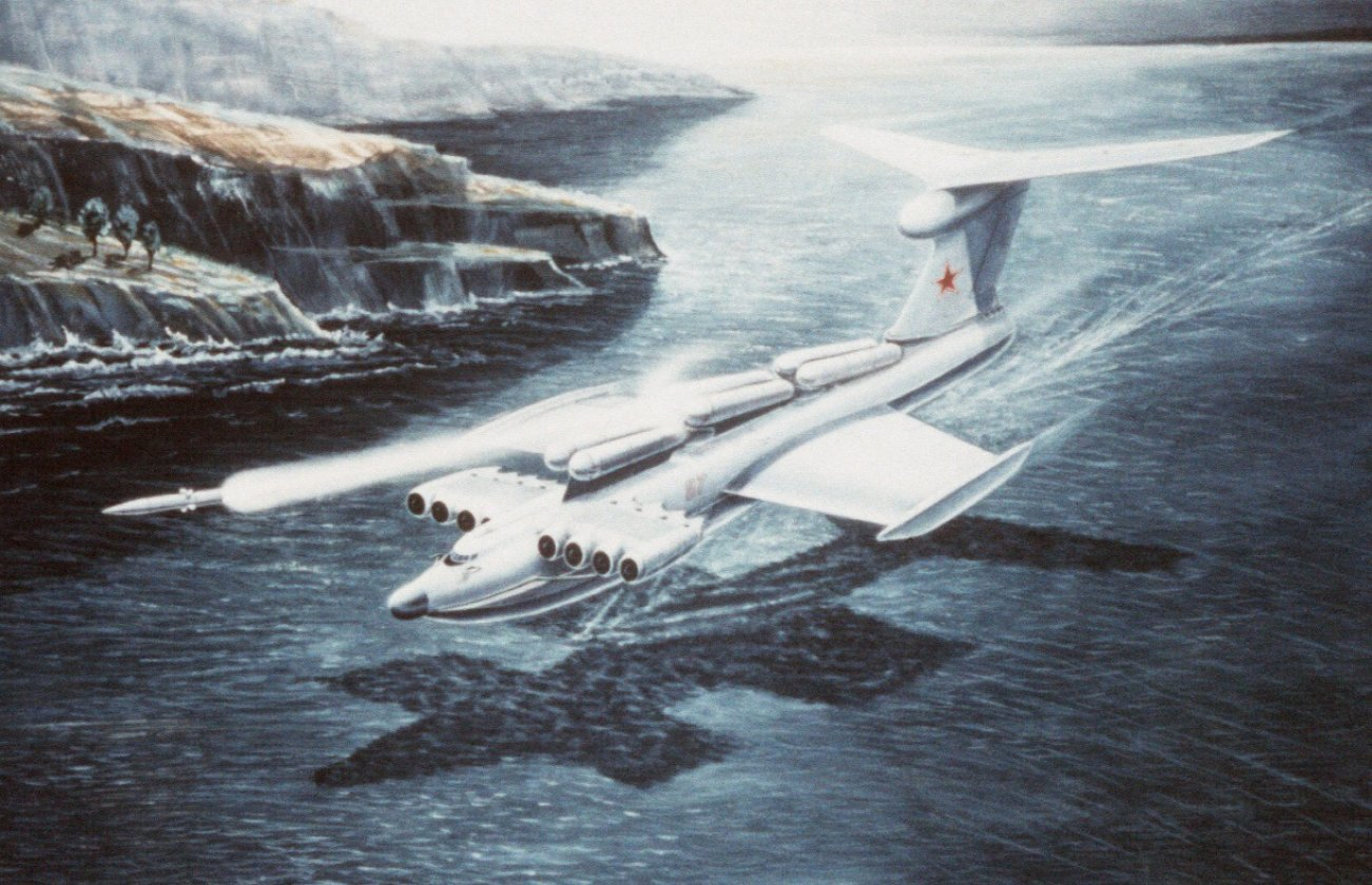 The Massive MD-160: The Soviet Union's Failed Superplane