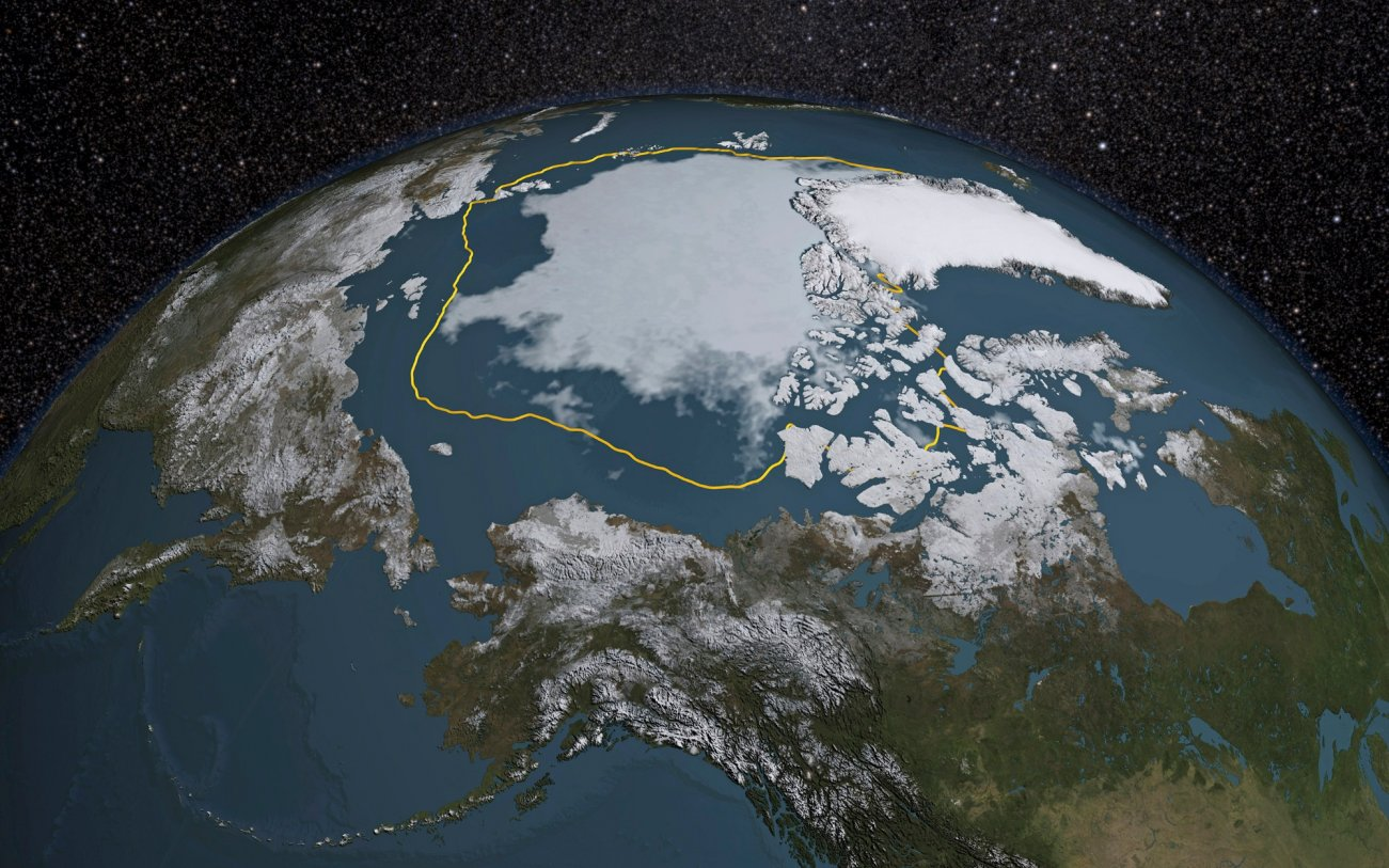 Climate Emergency: This Year's Arctic Freeze Is Unseasonably Late