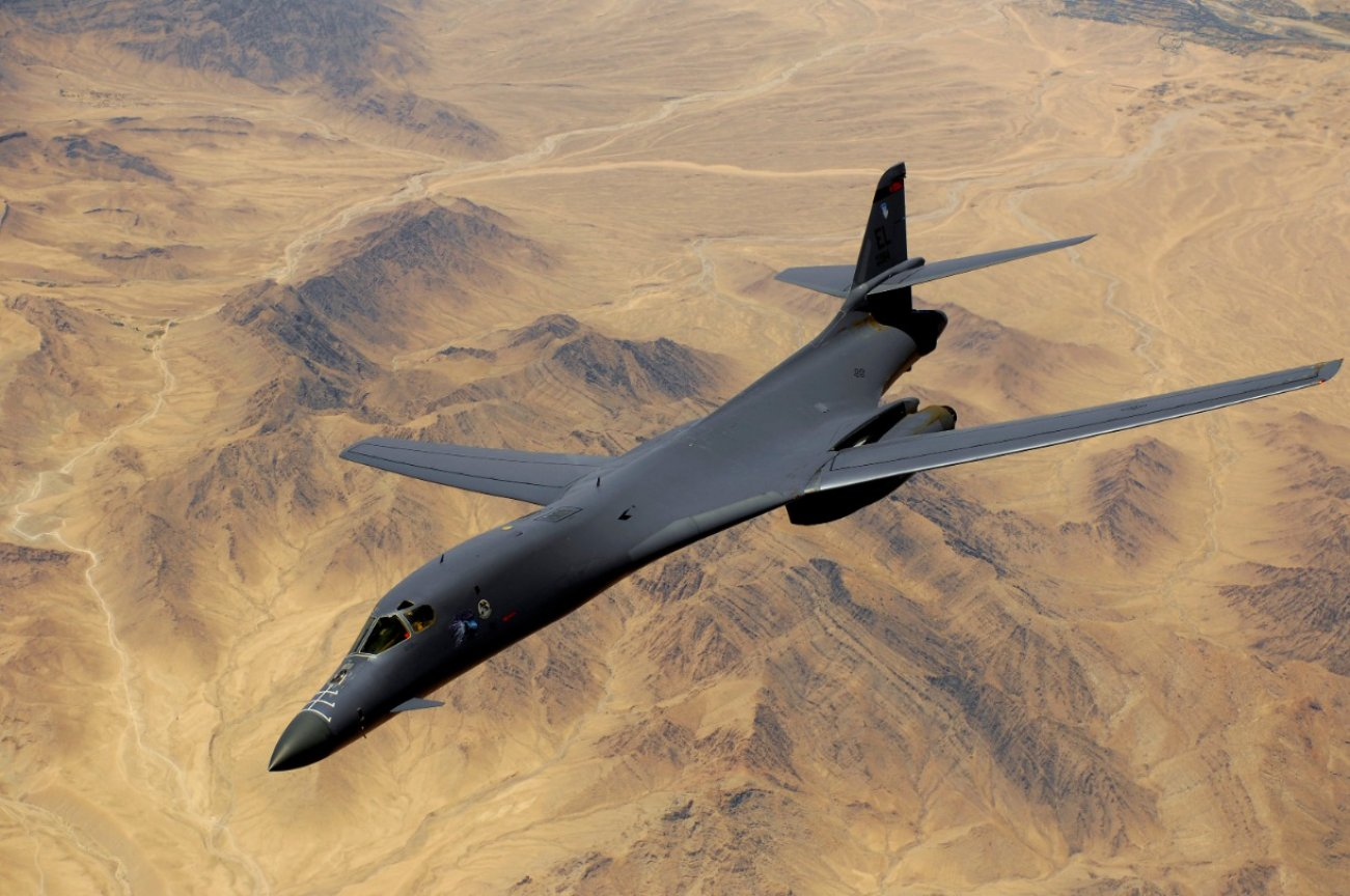 How the B-1 Lancer Bomber Became An ISIS Killer