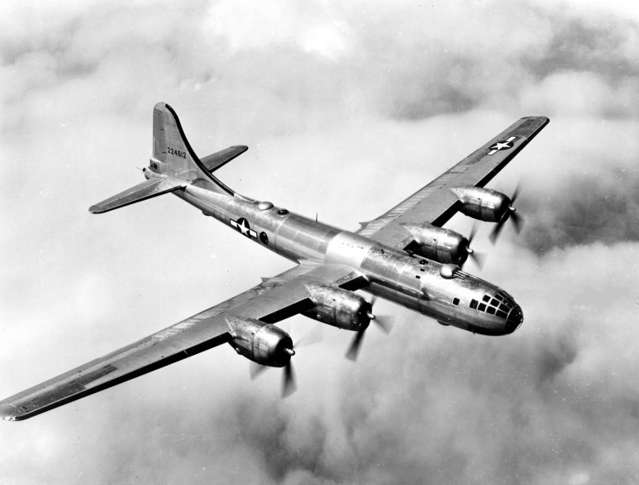 The B-29 Bomber: It Went to War for America and Russia?