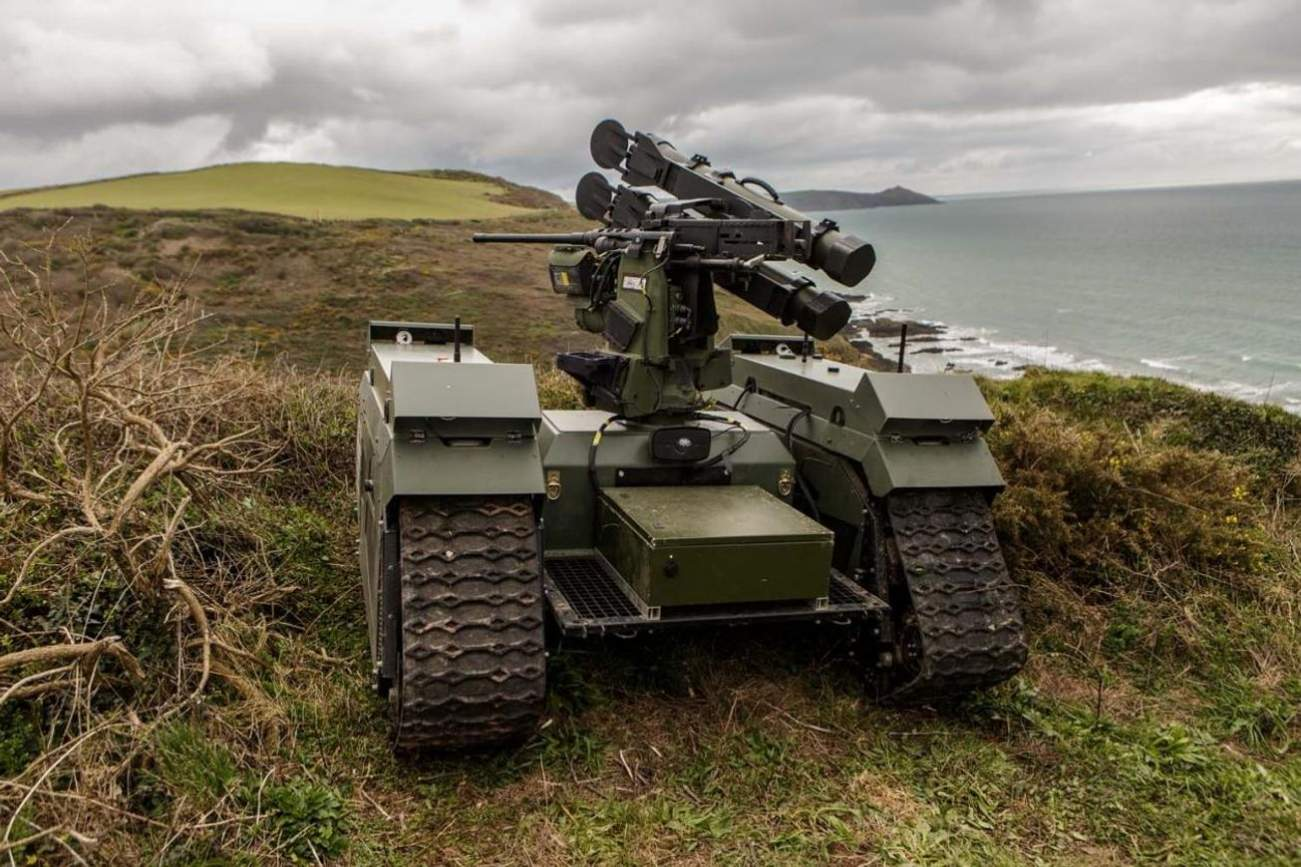 The Future of Combat Is Now: Robot Tanks Protected the Marines in a War Game