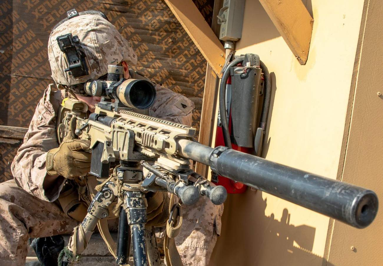 The U.S. Marines Plan to Use Powerful Robots to Move Around Equipment and Weapons