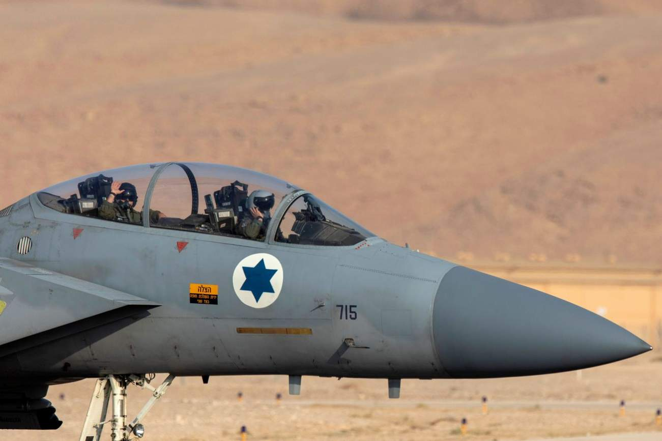 """Israel's Air Force Has a New Air-Launched """"Rampage"""" Ballistic Missile"""