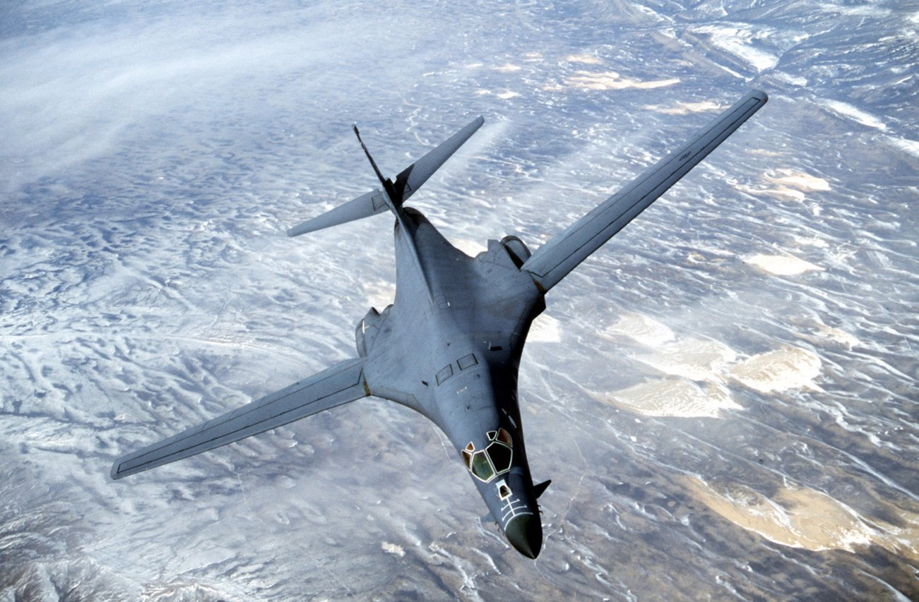 Is the B-1 Bomber Using an Alien Cloaking Device?