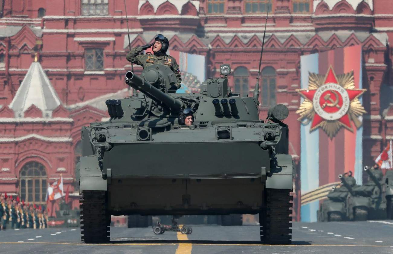 Russia and Israel Have Both Unveiled Deadly Urban Warfare Semi-Tanks