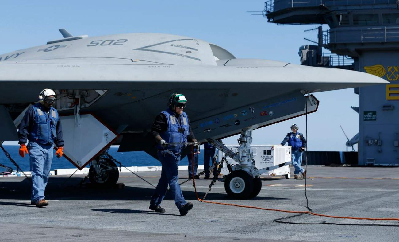 Meet the Navy's MQ-25 Stingray: A New Drone That Can Refuel Stealth Fighters
