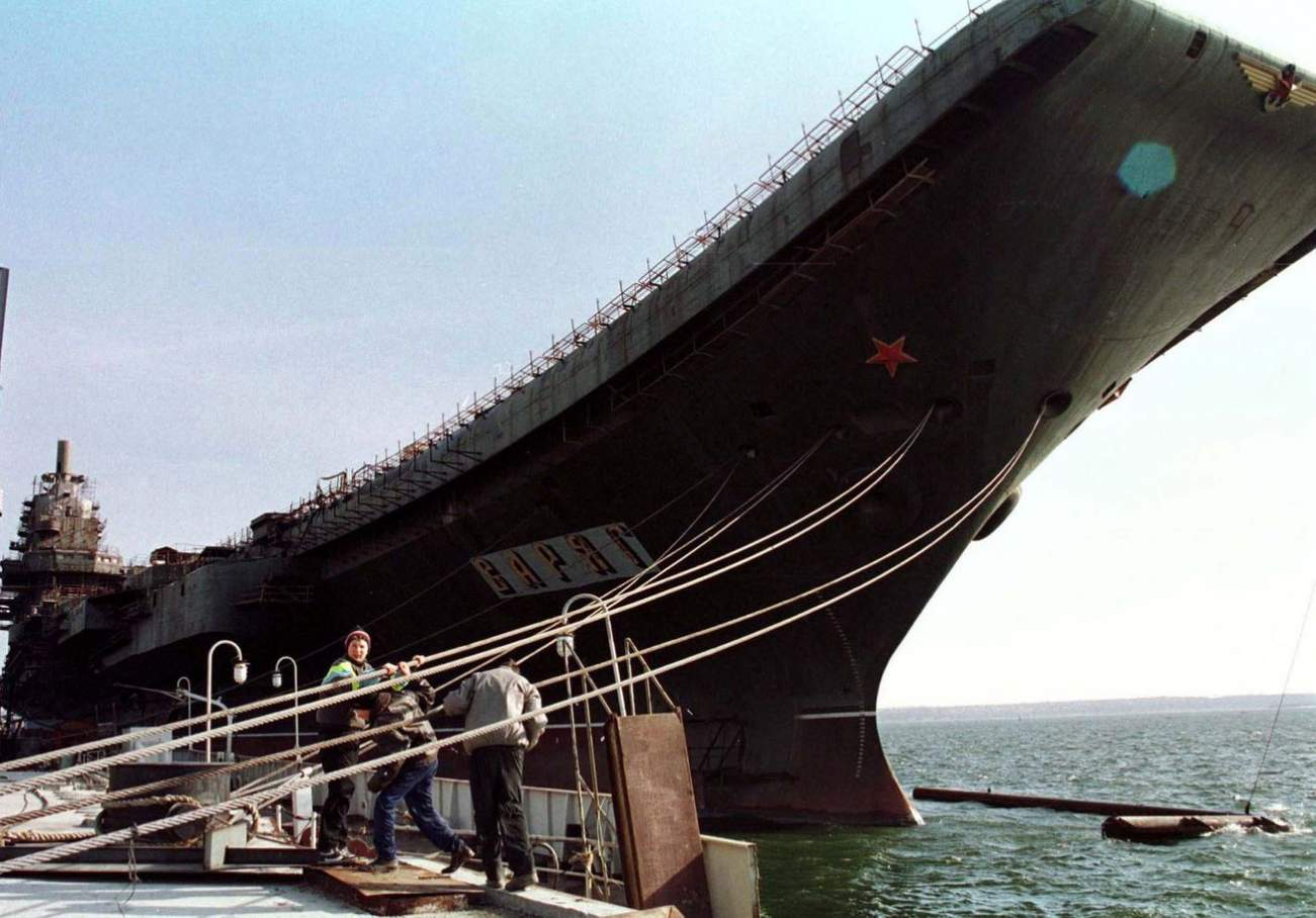 Imagine This: China Never Bought and Repurposed an Old Soviet Aircraft Carrier